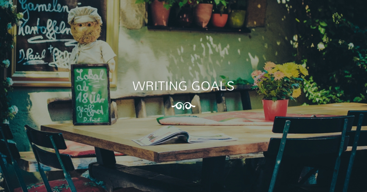 Setting Writing Goals by Dr. Scott Zarcinas
