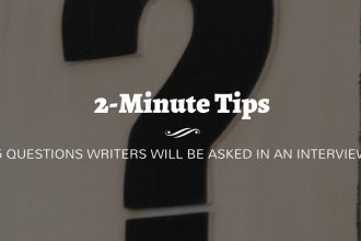 5 Questions Writers Will Be Asked in Author Interviews