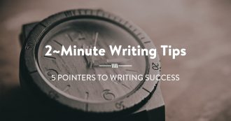 5 POINTers to Writing Success