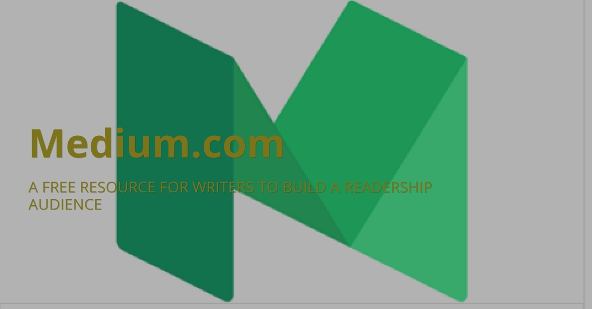 Medium.com A Free Resource For Writers